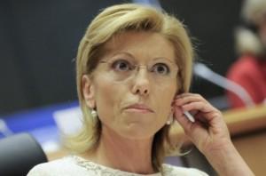 Румяна Желева се представи слабо на изслушванията за еврокомисари и трябваше спешно да бъде сменена като български кандидат. Снимка: ЕП