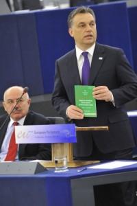 Виктор Орбан заяви, че Унгария ще се бори за влизането на България и Румъния в Шенген, но настроенията за това сред страните членки не са позитивни. Снимка: Европейски парламен