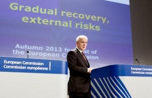 Оли Рен обещава постепенно възстановяване и външни рискове. Снимка: Европейска комисия