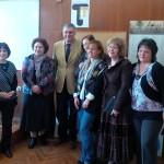 С няколко учителки от Френската гимназия