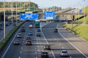 България е единственият член на ЕС, който не може да се похвали с нито една завършена магистрала като тази край европейската столица Брюксел.